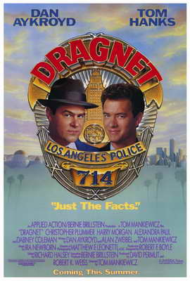Dragnet - 27 x 40 Movie Poster - Style A