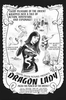 Dragon Lady - 11 x 17 Movie Poster - Belgian Style A