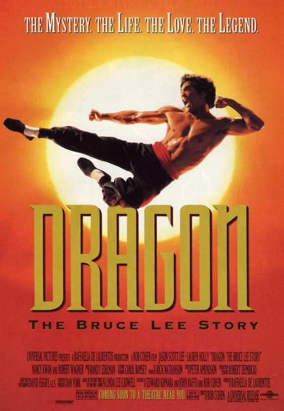 dragon bruce lee story cast