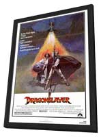 Dragonslayer - 27 x 40 Movie Poster - Style A - in Deluxe Wood Frame