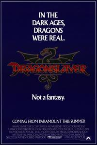 Dragonslayer - 11 x 17 Movie Poster - Style B