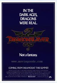 Dragonslayer - 27 x 40 Movie Poster - Style B