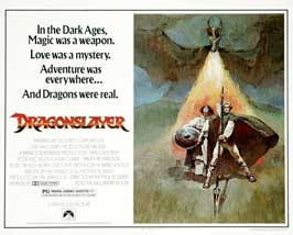 Dragonslayer - 11 x 17 Movie Poster - French Style A
