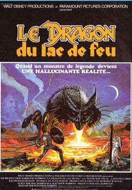 Dragonslayer - 11 x 17 Movie Poster - French Style B