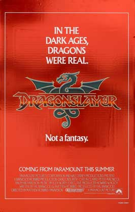 Dragonslayer - 27 x 40 Movie Poster - Style C
