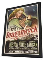 Dragonwyck - 11 x 17 Movie Poster - Style A - in Deluxe Wood Frame