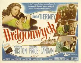 Dragonwyck - 22 x 28 Movie Poster - Half Sheet Style A