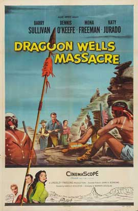 Dragoon Wells Massacre - 27 x 40 Movie Poster - Style A