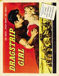 Dragstrip Girl - 22 x 28 Movie Poster - Half Sheet Style A