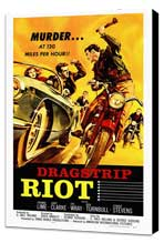Dragstrip Riot - 27 x 40 Movie Poster - Style A - Museum Wrapped Canvas