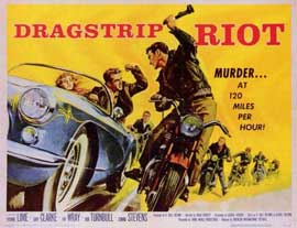 Dragstrip Riot - 11 x 14 Movie Poster - Style A