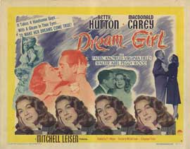 Dream Girl - 22 x 28 Movie Poster - Half Sheet Style A
