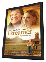 Dreamer - 11 x 17 Movie Poster - Style C - in Deluxe Wood Frame
