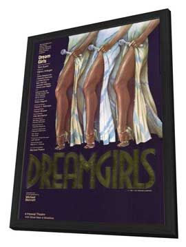 Dreamgirls (Broadway) - 27 x 40 Movie Poster - Style A - in Deluxe Wood Frame