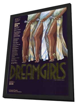 Dreamgirls (Broadway) - 11 x 17 Poster - Style A - in Deluxe Wood Frame
