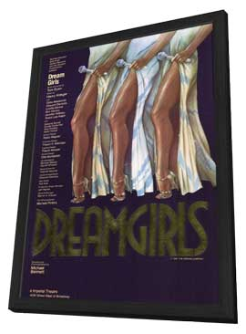 Dreamgirls (Broadway) - 14 x 22 Poster - Style A - in Deluxe Wood Frame
