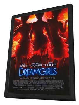 Dreamgirls - 27 x 40 Movie Poster - Style A - in Deluxe Wood Frame