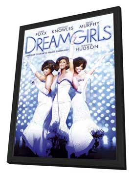 Dreamgirls - 27 x 40 Movie Poster - Czechoslovakian Style A - in Deluxe Wood Frame