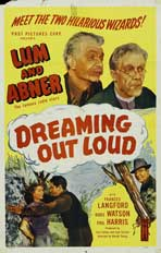 Dreaming Out Loud - 11 x 17 Movie Poster - Style A