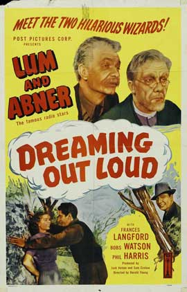 Dreaming Out Loud - 27 x 40 Movie Poster - Style A