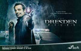 The Dresden Files - 11 x 17 TV Poster - Style A