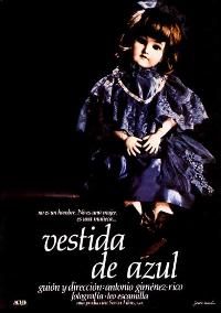 Dressed in Blue - 11 x 17 Movie Poster - Spanish Style A