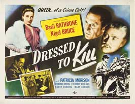 Dressed To Kill - 11 x 14 Movie Poster - Style A