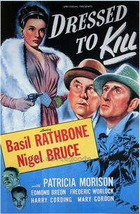 Dressed to Kill - 43 x 62 Movie Poster - Bus Shelter Style A