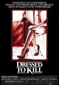 Dressed to Kill - 11 x 17 Movie Poster - German Style B