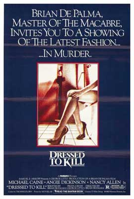 Dressed to Kill - 27 x 40 Movie Poster - Style A