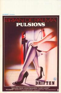 Dressed to Kill - 11 x 17 Movie Poster - Belgian Style A