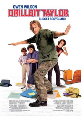 Drillbit Taylor - 11 x 17 Movie Poster - Swedish Style A