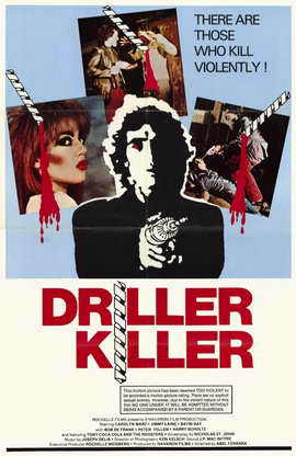 Driller Killer - 11 x 17 Movie Poster - Style A