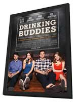Drinking Buddies - 27 x 40 Movie Poster - Style A - in Deluxe Wood Frame