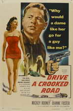 Drive a Crooked Road - 11 x 17 Movie Poster - Style A