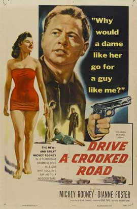 Drive a Crooked Road - 27 x 40 Movie Poster - Style A