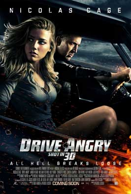 Drive Angry 3D - 11 x 17 Movie Poster - Style A