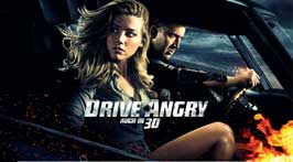 Drive Angry 3D - 20 x 40 Movie Poster - Swiss Style A