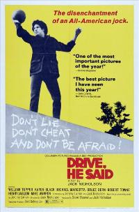 Drive, He Said - 27 x 40 Movie Poster - Style B