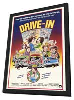 Drive-In - 11 x 17 Movie Poster - Style A - in Deluxe Wood Frame