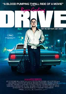 Drive - 27 x 40 Movie Poster - Swiss Style A