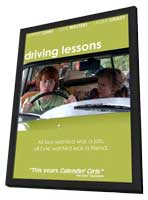 Driving Lessons - 11 x 17 Movie Poster - UK Style A - in Deluxe Wood Frame