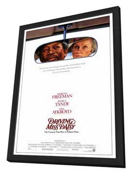 Driving Miss Daisy - 27 x 40 Movie Poster - Style A - in Deluxe Wood Frame