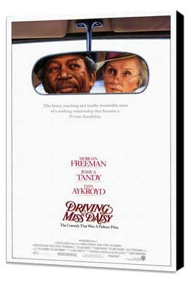 Driving Miss Daisy - 27 x 40 Movie Poster - Style A - Museum Wrapped Canvas