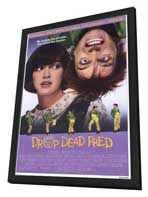 Drop Dead Fred - 11 x 17 Movie Poster - Style A - in Deluxe Wood Frame