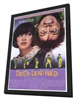 Drop Dead Fred - 27 x 40 Movie Poster - Style A - in Deluxe Wood Frame