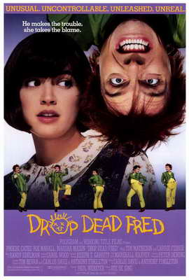 Drop Dead Fred - 27 x 40 Movie Poster - Style A