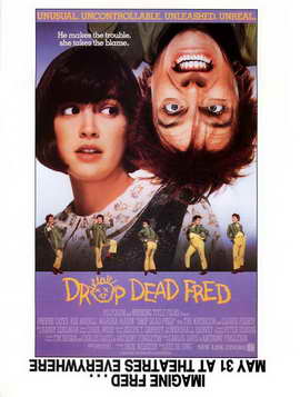 Drop Dead Fred - 27 x 40 Movie Poster - Style B