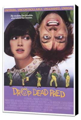 Drop Dead Fred - 27 x 40 Movie Poster - Style A - Museum Wrapped Canvas
