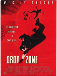 Drop Zone - 47 x 62 Movie Poster - French Style A